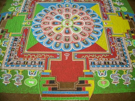 Mandala. Ile de la Reunion 2008.