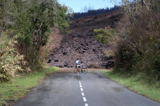 Coulée de lave en 6 mai 2007